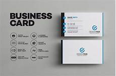 Examples Of Calling Card Simple Clean Business Card Business Card Templates
