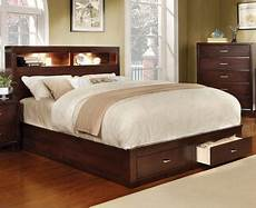 furniture of america gerico ii collection cm7291ch ck bed