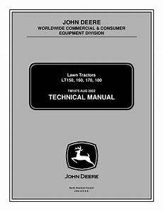 John Deere Lawn Tractor Battery Light Stays On Why John Deere Lt170 Lawn Garden Tractor Service Repair Manual