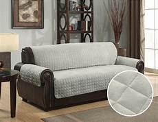 quilted micro suede pet sofa furniture protector