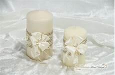 candele economiche coppia candele shabby chic creazioni floreali addobbi
