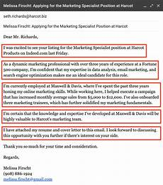 How To Email Your Resume And Cover Letters Writing An Email Cover Letter Sample 5 Expert Tips