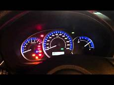 Subaru Dashboard Lights Subaru Forester 2011 Dash Lights Youtube