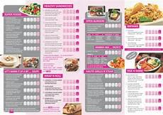 Sample Menu Cards Sprint Printing Press In Delhi 187 Menu Card Design Samples