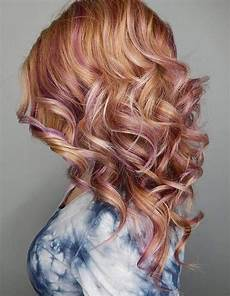 Light Brown Hair With Strawberry Highlights 60 Trendiest Strawberry Hair Ideas For 2020