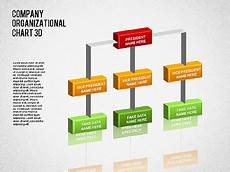 3d Organizational Chart 3d Org Chart Presentation Template For Google Slides And