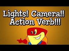 Lights Camera Action Song Verb Song From Grammaropolis Quot Lights Camera Action