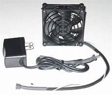 av cabinet exhaust fan system single 80mm thermistor fan
