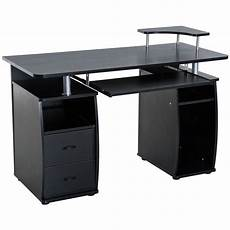 Homcom Writing Desk Computer Table Home Office Pc Laptop by Homcom Wood Work Table Computer Desk Laptop Workstation