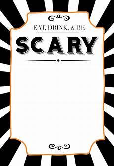 Halloween Invites Halloween Invitations Free Printable Template Paper