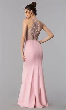 v neck lace back mermaid prom dress promgirl