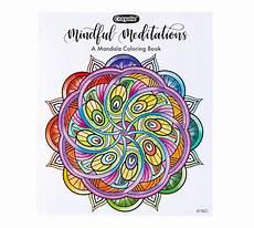 mandala coloring book 40 coloring pages crayola