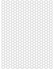 Printable Hex Grid Scientific Kirigami Templates For The Home Scientist