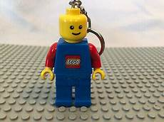 Lego Man Light Up Keychain Lego Minifigure Yellow Man Blue And Red Keychain W Led