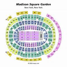 Square Garden Seating Chart With Rows Msg Seating Chart Concert Seat Numbers Brokeasshome Com