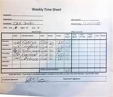 Example Of Timesheet For Employee Changing From Paper To Digital Timesheets Assignar