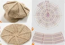 patron crochet gorra