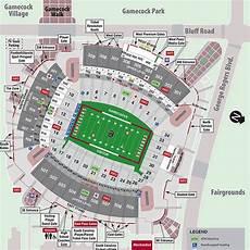 South Carolina Gamecock Football Stadium Seating Chart South Carolina Gamecocks 2016 Football Schedule