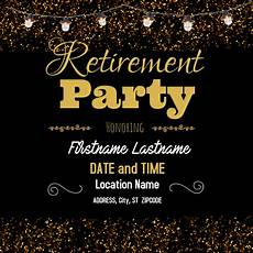Retirement Party Flyers Copy Of Retirement Party Postermywall