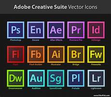 Adobe Software For Design Adobe Creative Suite Vector Icons Download On Behance