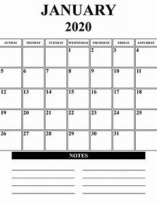 January 2020 Calendar Download Free Blank January 2020 Calendar Printable In Pdf Word Excel