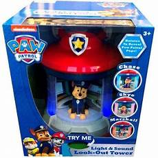 Paw Patrol Night Light Nickelodeon Paw Patrol Light Amp Sound Look Out Tower
