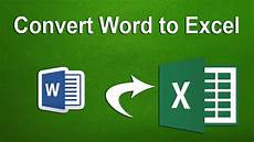 Where To Download Word How To Convert Word Document To Excel Spreadsheet In