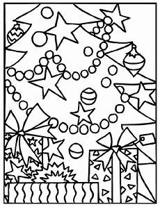 gifts the tree coloring page crayola