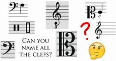 Clef Music Can You Name All These Musical Clefs Classic Fm