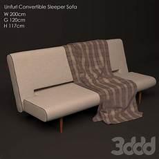 Sleeper Sofa 3d Image by 3d модели диваны Unfurl Convertible Sleeper Sofa