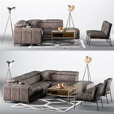 Small Space Sofa 3d Image by 3d Model Living Room Setup Sofa