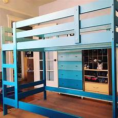 diy idea ombre your mydal bunk bed frame like this ikea