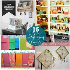 great ideas 16 diy organizing projects