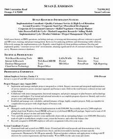 Project Manager Resume Objectives Sample Resume For Project Manager Sample Resumes