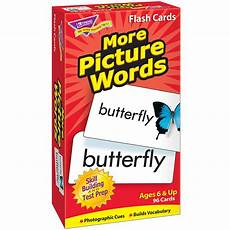 Flash Cards Words Flash Cards More Picture 96 Box Words T 53005 Trend