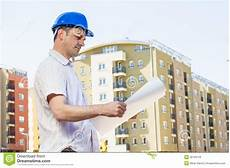 Buildings Manager Construction Manager Looking Project Stock Photo Image