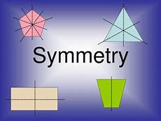 Line Of Symmetry Powerpoint Ppt Symmetry Rotation Translation Reflection Powerpoint