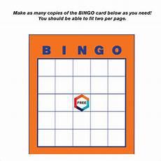 Bingo Card Template Microsoft Word Free 8 Blank Bingo Samples In Pdf Ms Word
