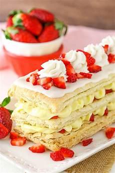 strawberry napoleons easy strawberry dessert recipe that