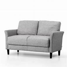 zinus seat sofa lounge furniture 2 seater