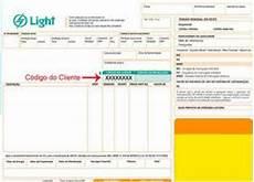 Conta De Luz Light Rio De Janeiro 2 Via De Conta De Luz Light Rj Informa 199 195 O
