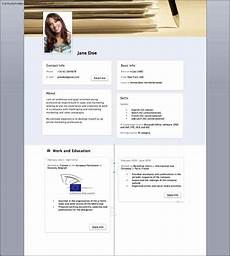 Facebook Resume Template Facebook Resume Template Free Samples Examples