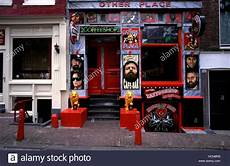 Coffee Shops Amsterdam Red Light District Coffeeshop In Amsterdam Red Light District Stock Photo
