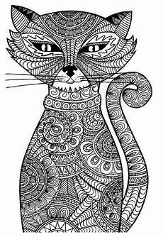 Ausmalbilder Erwachsene Katzen Ausmalbilder Erwachsene Katze 698 Malvorlage Erwachsene