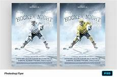 Hockey Flyer Template Hockey Night Flyer Template Flyer Templates Creative