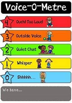 Voice Chart Voice Level Chart By Little Wombats Teachers Pay Teachers