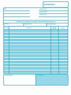 Formato Para Cotizacion En Word Ejemplo De Cotizaci 243 N O Presupuesto Plantilla Opcionis