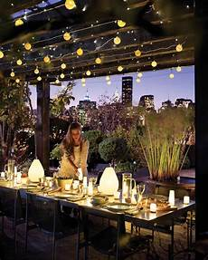 Garden Party Lights Ideas Party Lighting Ideas Martha Stewart