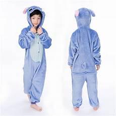 stitch onesie for kid animal kigurumi pajama disney