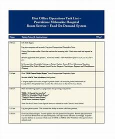 Office Tasks List Free 22 Task List Samples In Pdf